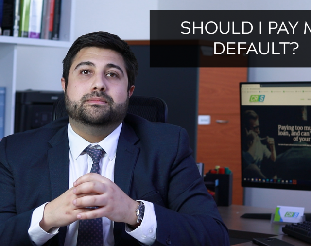 If I pay a creditor, will the default be removed from my credit file?