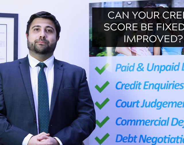 Repairing or Improving your credit score, can it be done?